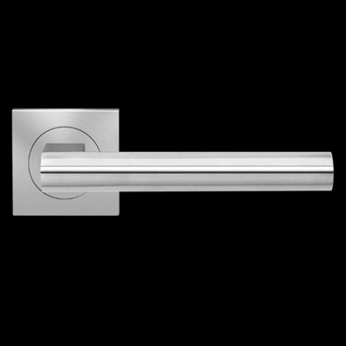 Karcher Design Madeira ER45Q Door Lever Handle on a Square Rose